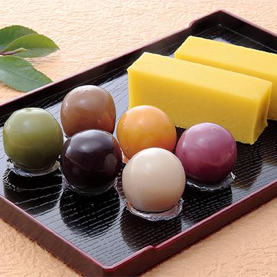 舟和の芋ようかんとあんこ玉賞品画像